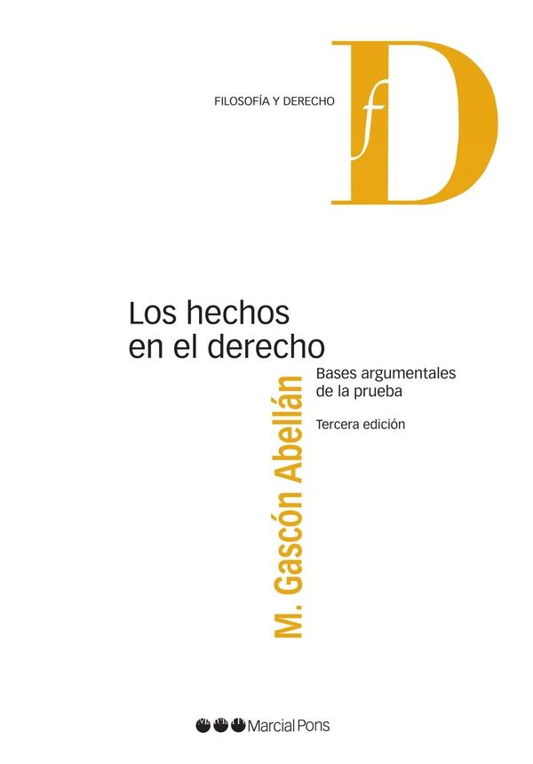 Capa do livro Los Hechos en Direito
